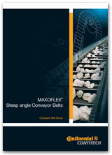 MAXOFLEX® Steep angle Conveyor Belts