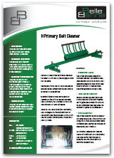 H Type Primary Belt Cleaner
