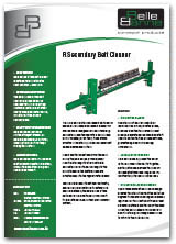 R Type Secondary Belt Cleaner