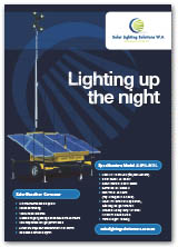 Solar Light Tower SLSWA-8404L
